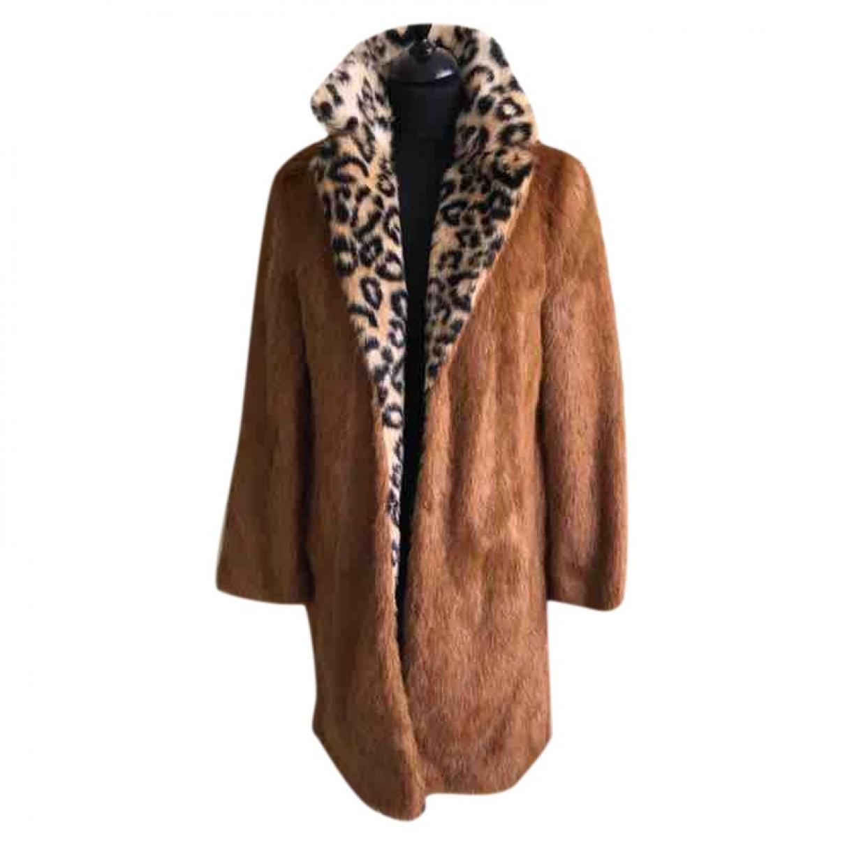Topshop - Manteau   pour femme - marron