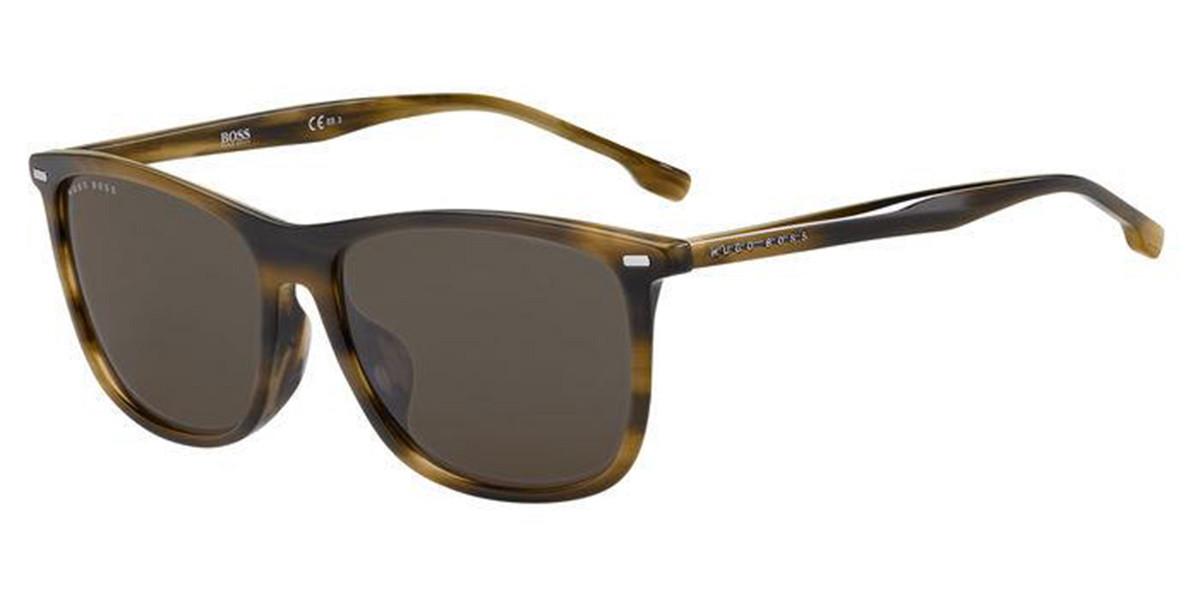 Boss by Hugo Boss Boss 1215/F/SK Asian Fit EX4/70 Women's Sunglasses Brown Size 59