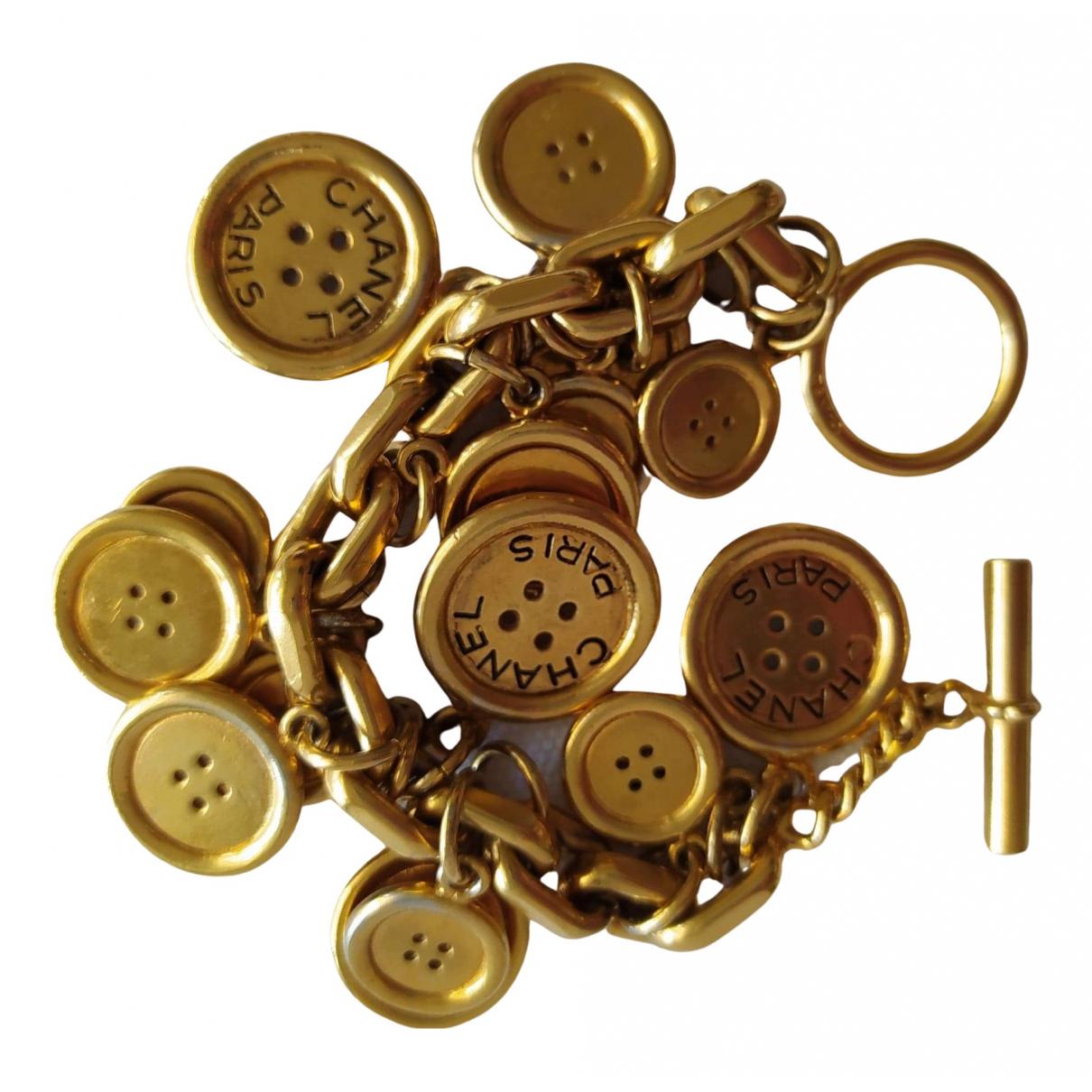 Chanel CHANEL Gold Gold plated bracelet for Women \N