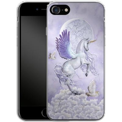 Apple iPhone 7 Silikon Handyhuelle - Moonshine von Selina Fenech
