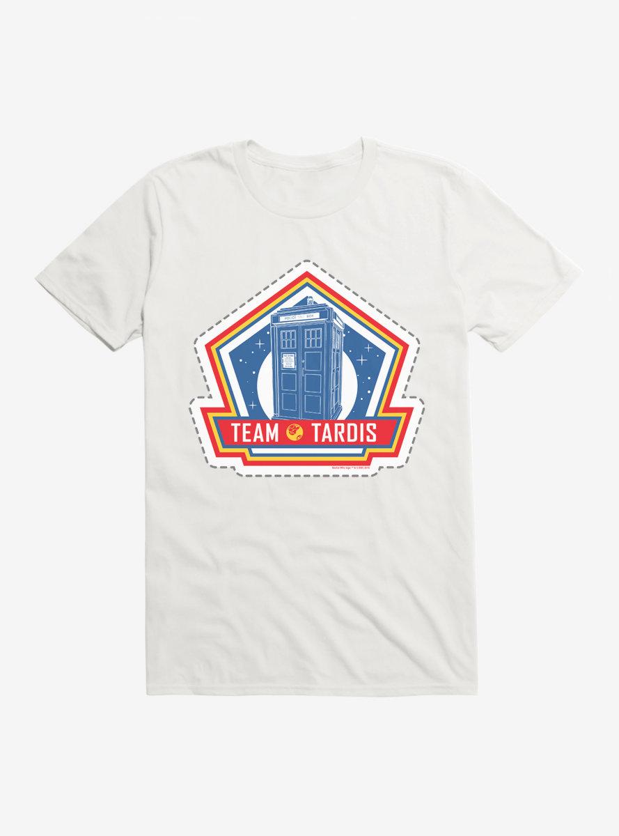 Doctor Who Thirteenth Doctor Team TARDIS Badge T-Shirt