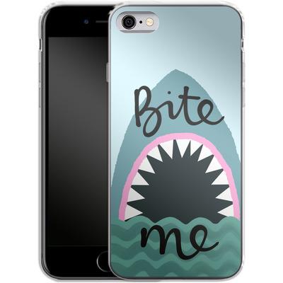 Apple iPhone 6s Silikon Handyhuelle - Bite Me von caseable Designs