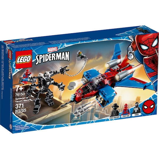 Lego® Marvel Spiderjet Vs. Venom Mech | Michaels®