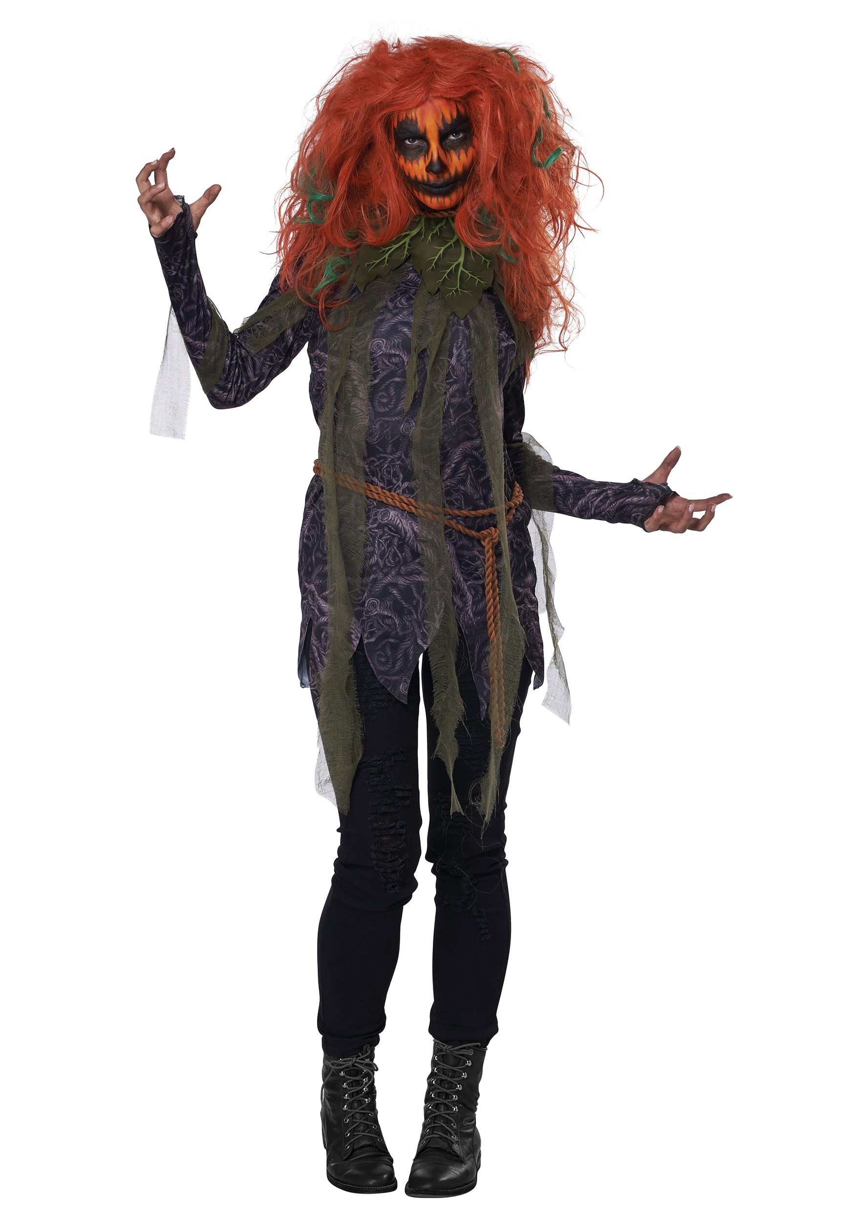 Pumpkin Monster Women's Costume