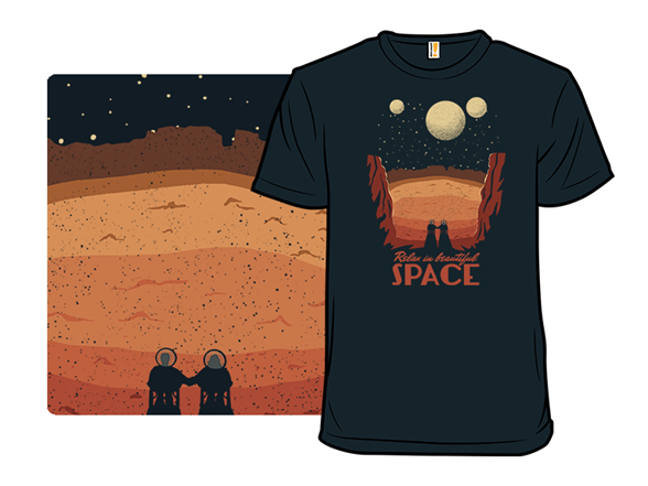 Relax In Space T Shirt