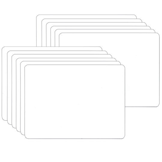Flipside White Two-Sided Dry Erase Board, 5
