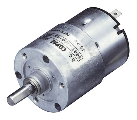 Copal Electronics , 24 V dc, 39 Ncm DC Geared Motor, Output Speed 33 rpm