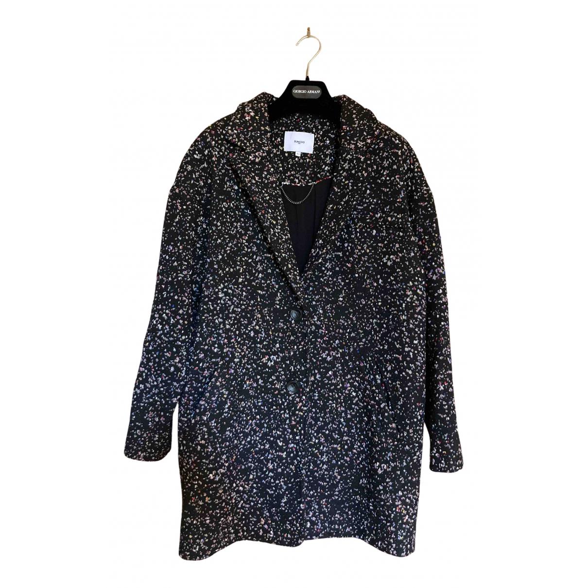 Suncoo N Black coat for Women 40 IT