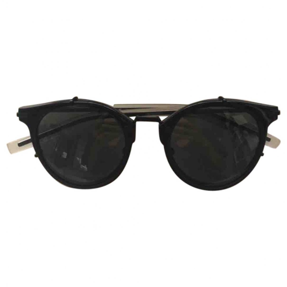 Dior \N Black Metal Sunglasses for Men \N