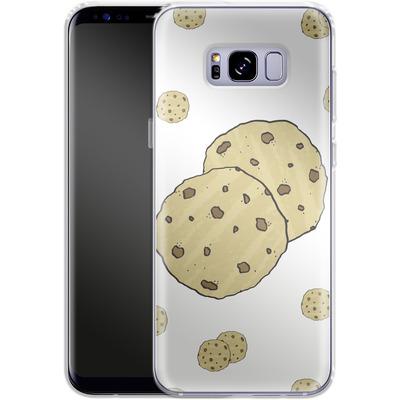 Samsung Galaxy S8 Plus Silikon Handyhuelle - Cookies von caseable Designs