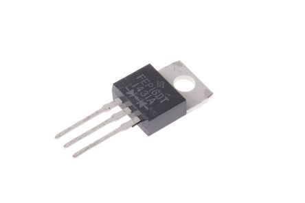 Vishay 200V 16A, Dual Silicon Junction Diode, 3-Pin TO-220AB FEP16DT-E3/45 (5)