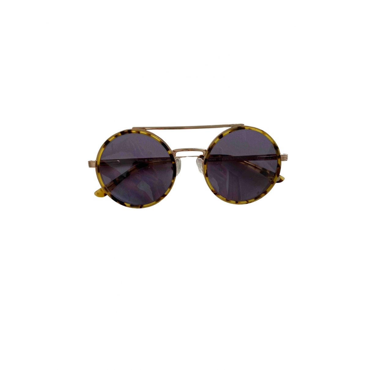 Non Signé / Unsigned \N Multicolour Metal Sunglasses for Women \N