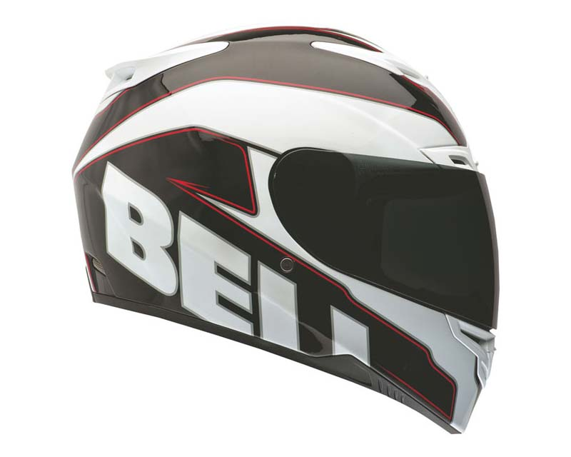 Bell Racing 2036609 RS-1 Emblem White Helmet 54-55 | XS