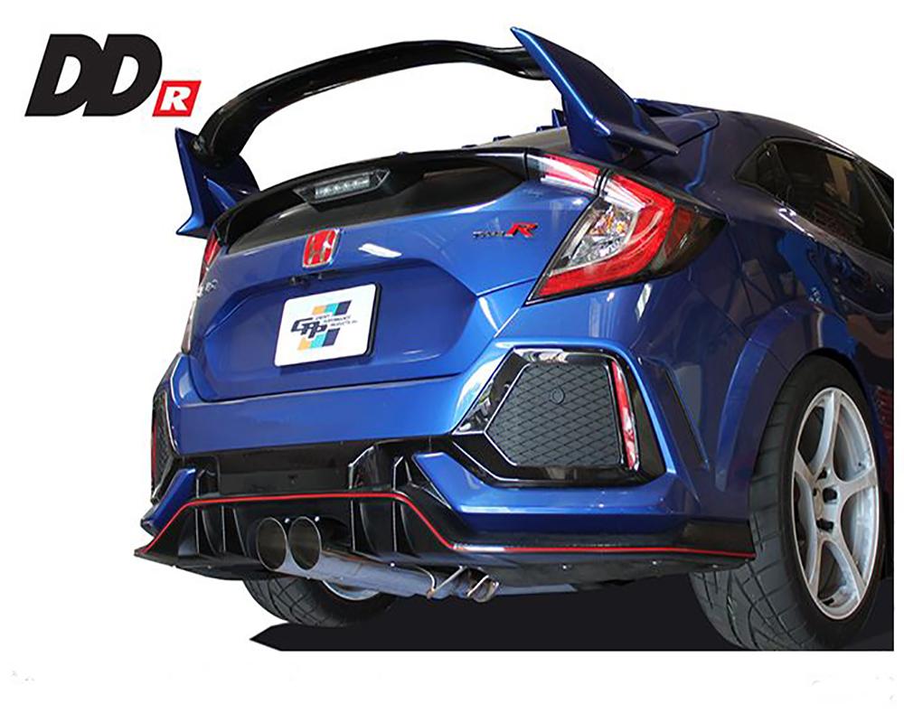GReddy DD-R Exhaust Honda Civic Type-R 17-20