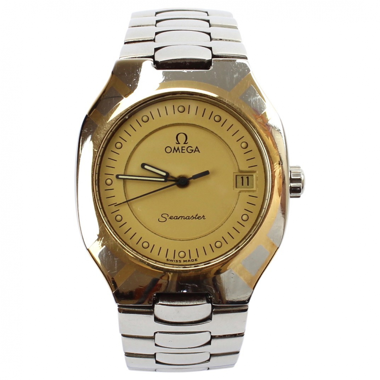 Omega Seamaster Gold Gold plated watch for Women \N