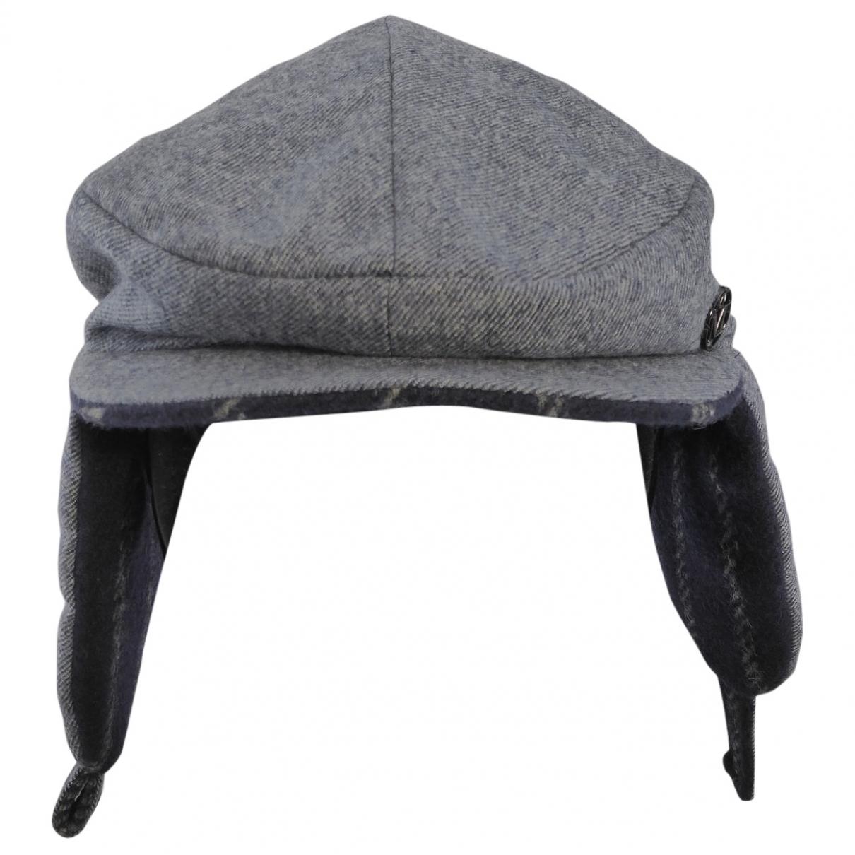 Maison Michel - Chapeau & Bonnets   pour homme en laine - gris