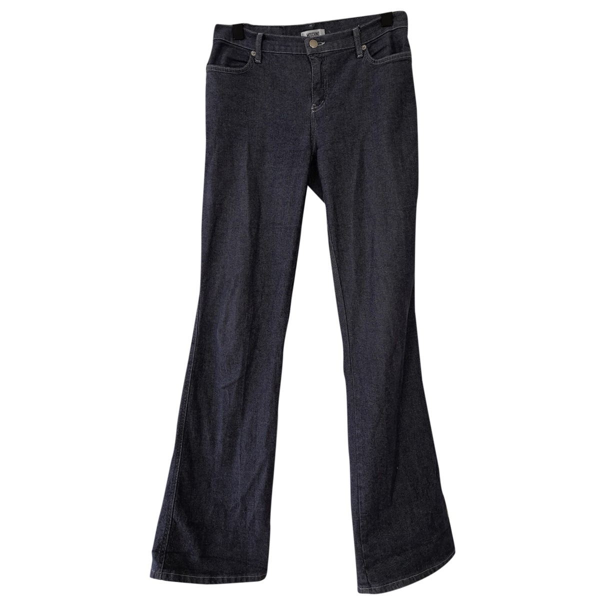 Moschino Cheap And Chic \N Blue Denim - Jeans Jeans for Women 30 US