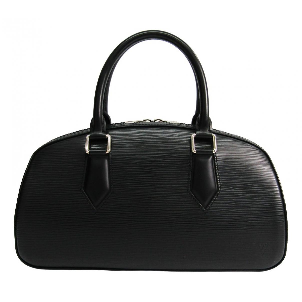Louis Vuitton Jasmin Handtasche in  Schwarz Leder