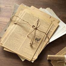 57sheets Vintage DIY Material Paper