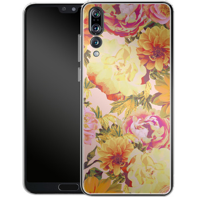 Huawei P20 Pro Silikon Handyhuelle - Tropicana Bouquet von Zala Farah