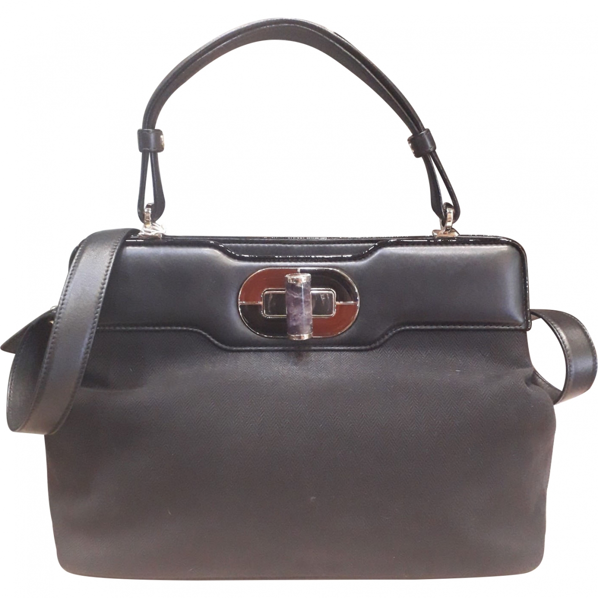 Bvlgari \N Black Cloth handbag for Women \N