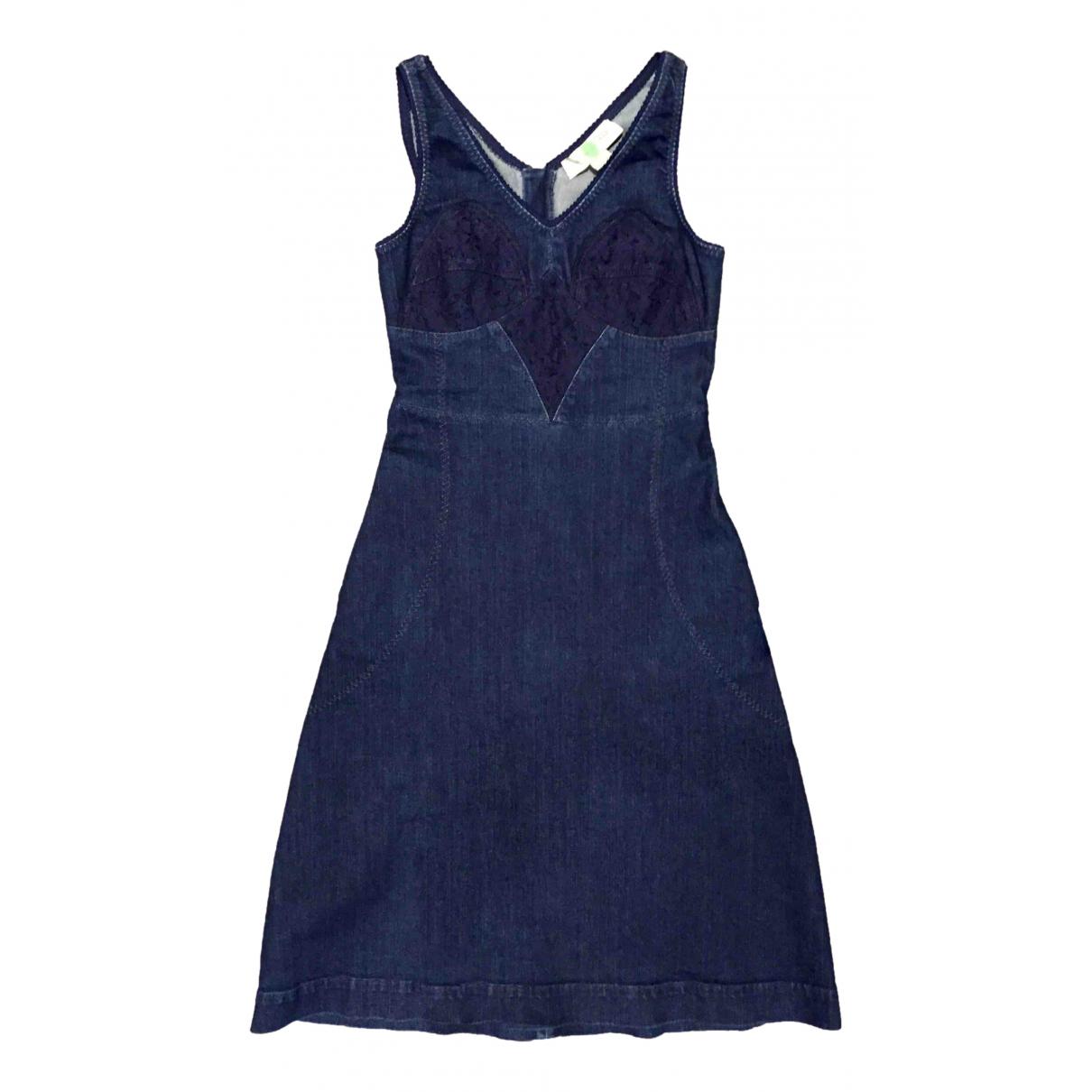 Stella Mccartney \N Kleid in  Blau Denim - Jeans