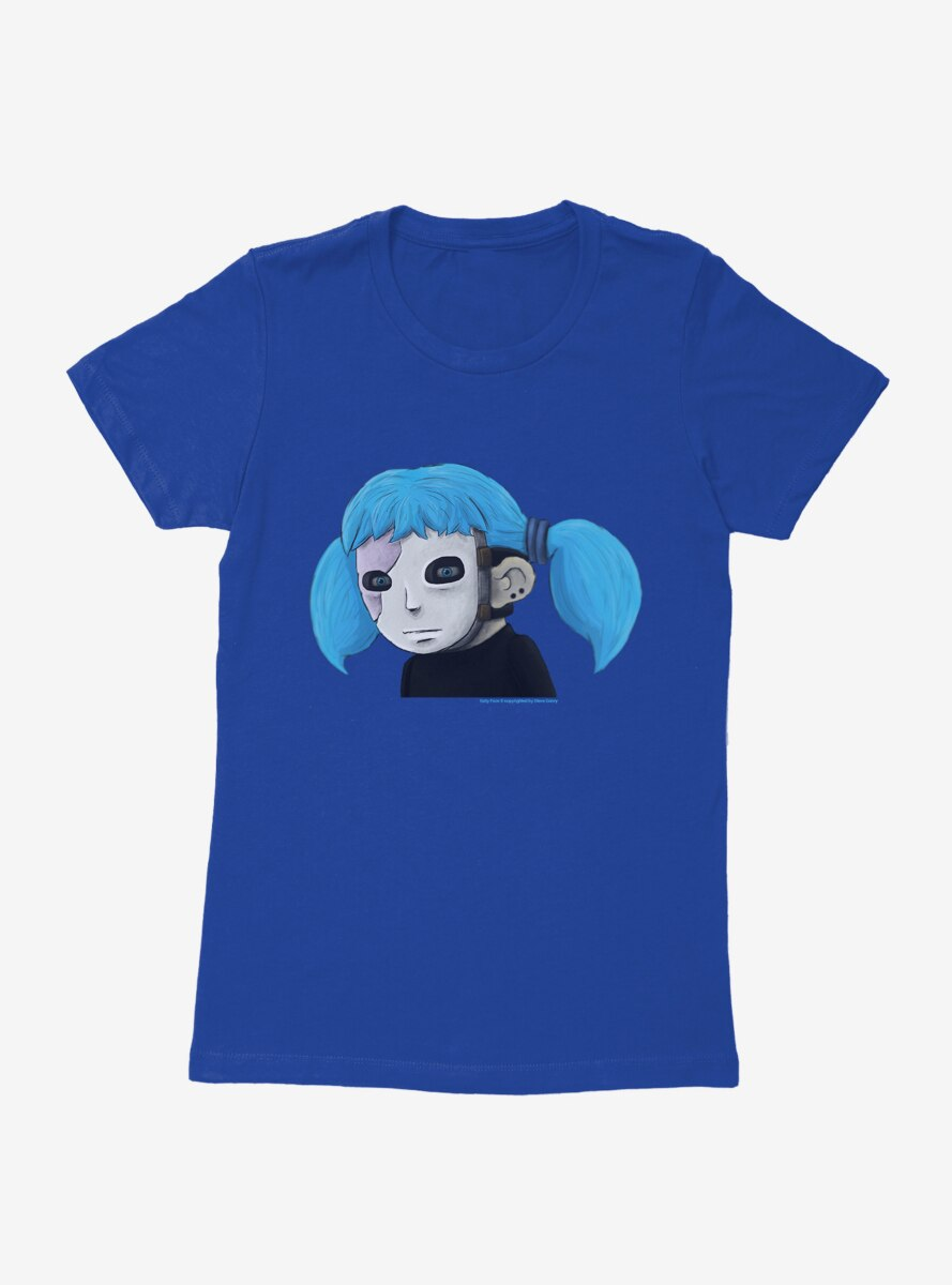 Sally Face Character Womens T-Shirt
