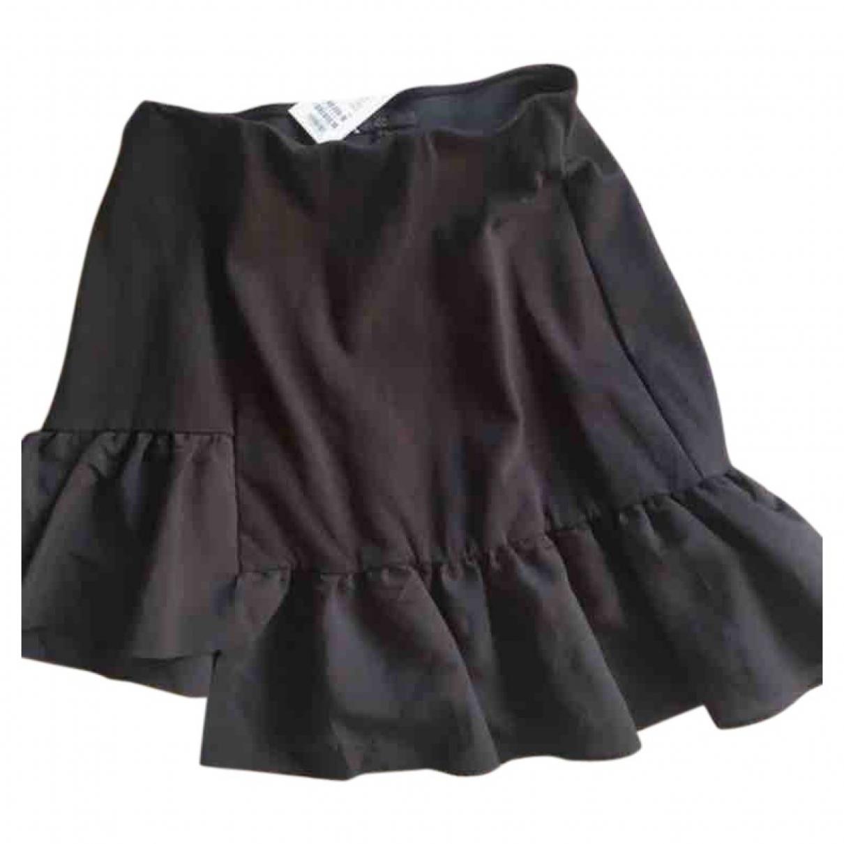 Cos - Jupe   pour femme en coton - noir
