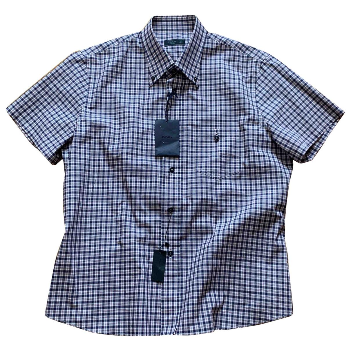 Prada - Chemises   pour homme en coton - multicolore