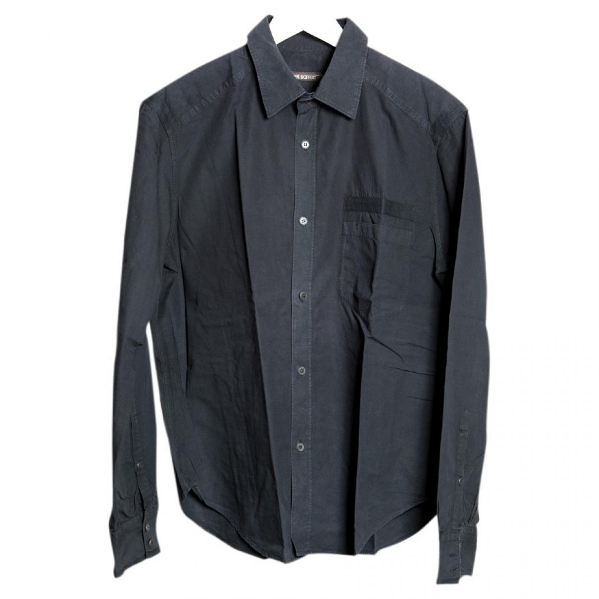 Neil Barrett - Chemises   pour homme en coton - noir