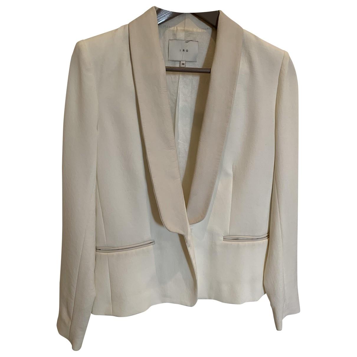 Iro \N Ecru jacket for Women 36 FR