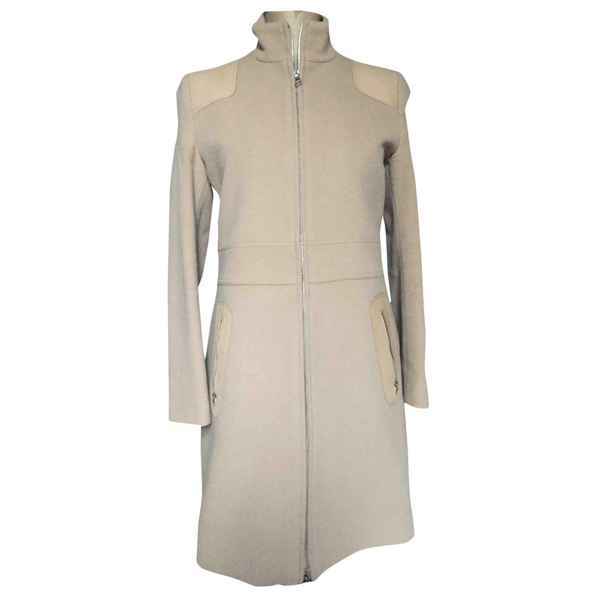 Joseph \N Beige Wool coat for Women S International