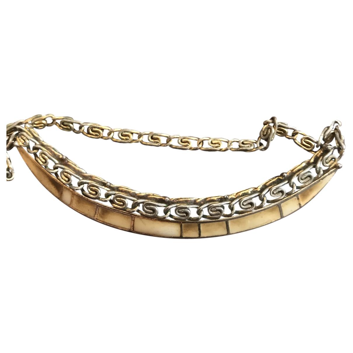 Balenciaga \N Kette in  Gold Metall