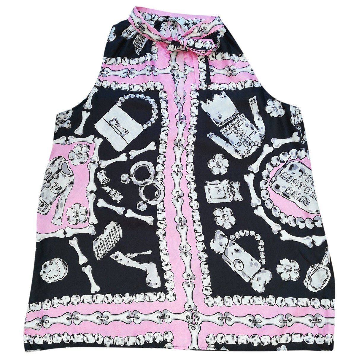 Moschino Cheap And Chic \N Top in  Rosa Seide