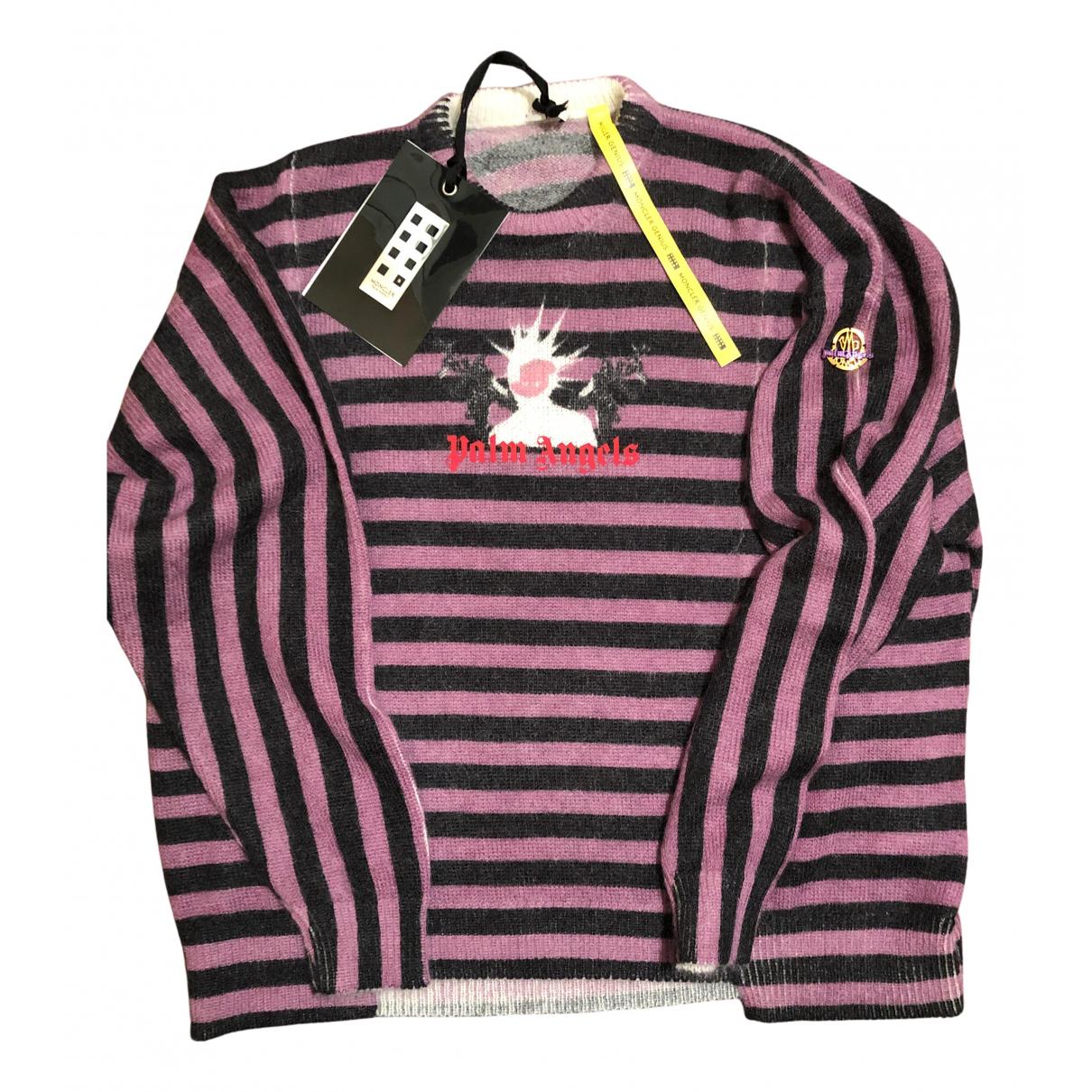 Palm Angels \N Pullover.Westen.Sweatshirts  in  Bunt Wolle