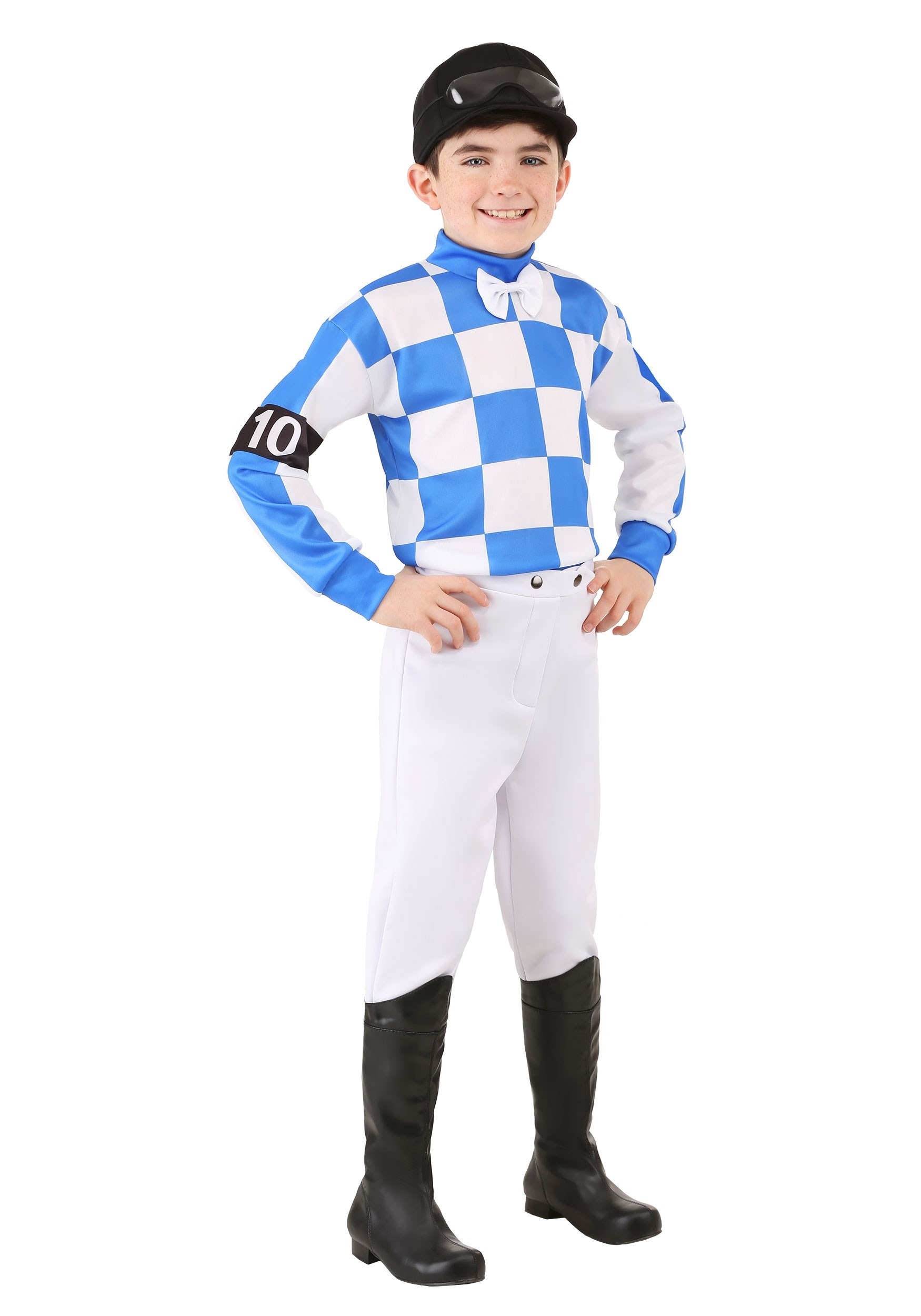 Boys Hockey Horse Racing Costume
