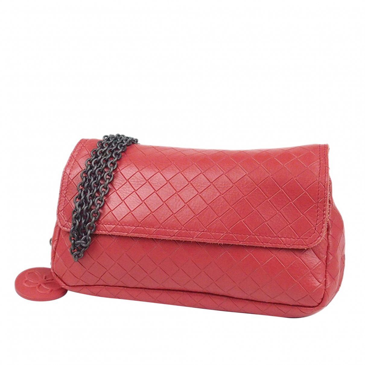 Bottega Veneta - Sac a main   pour femme en cuir - rouge