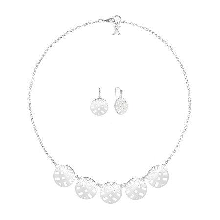 Mixit 2-pc. Jewelry Set, One Size , Silver