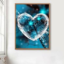 Heart Print DIY Diamond Painting