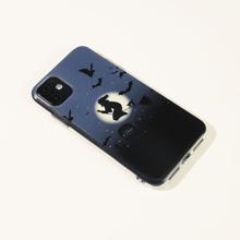 Witch & Bat Print iPhone Case