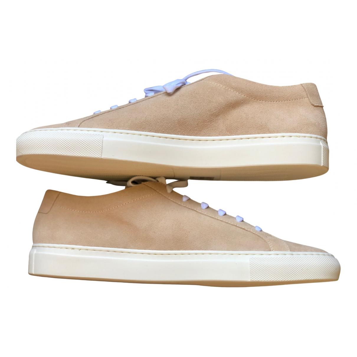 Common Projects \N Sneakers in  Kamel Veloursleder