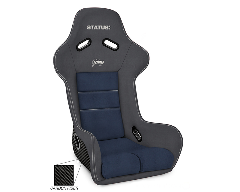 Status Racing SR-RGT-CF Ring GT Custom Made Carbon Racing Seat