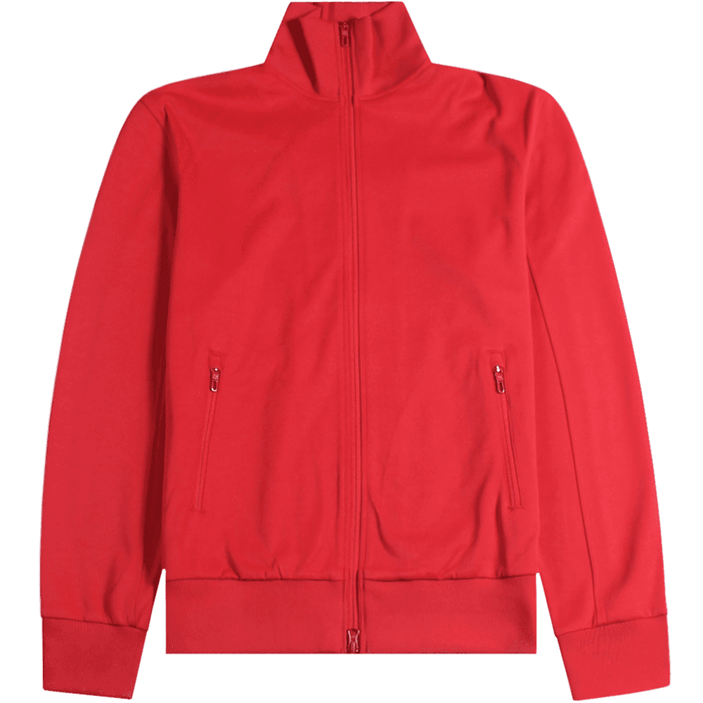 Y-3 Turtle Neck Jacket Red Colour: RED, Size: LARGE