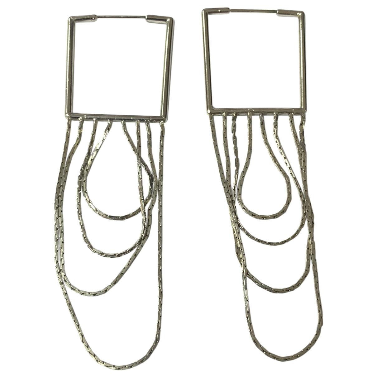 Maison Martin Margiela \N Silver Metal Earrings for Women \N