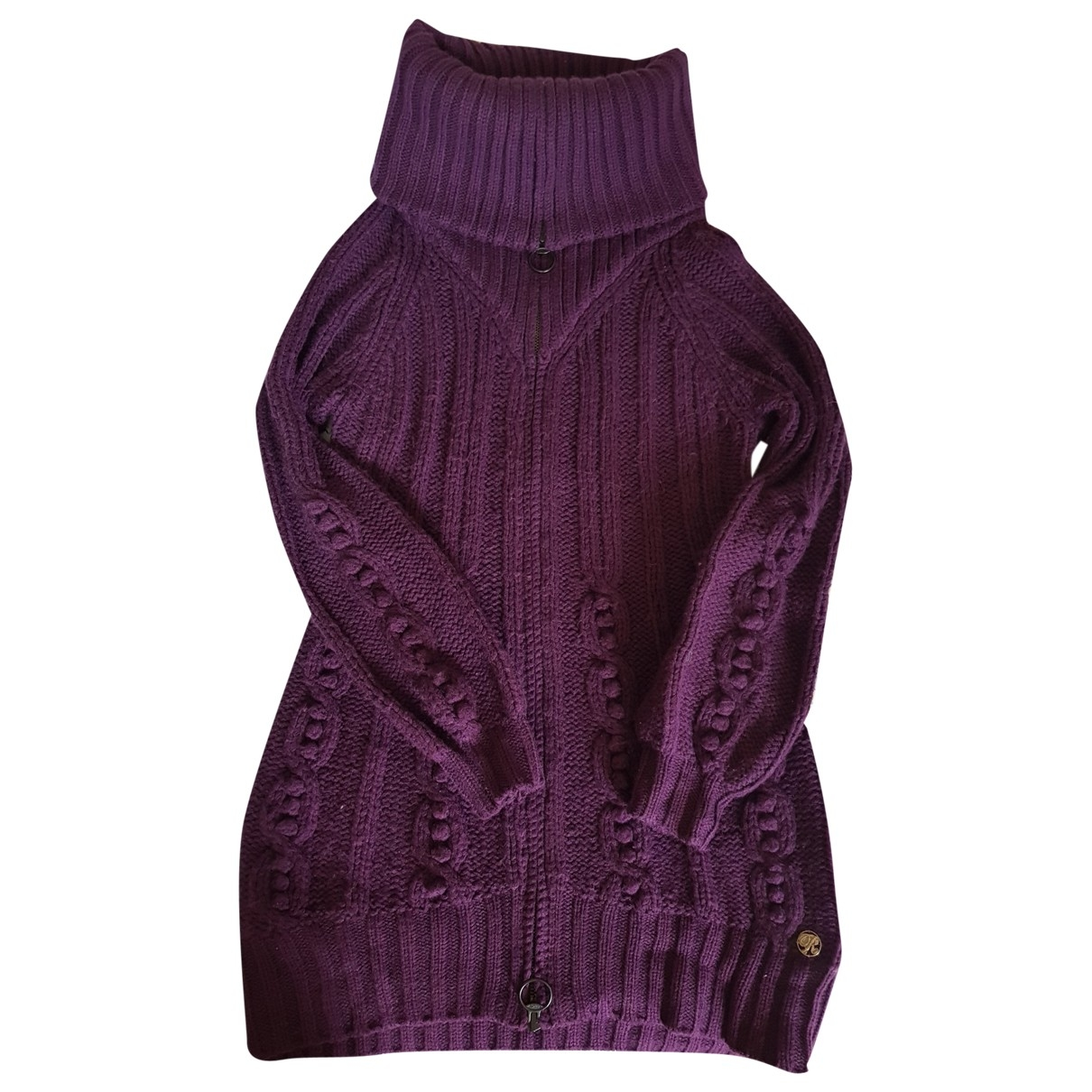 Replay \N Purple Wool Knitwear for Women L International