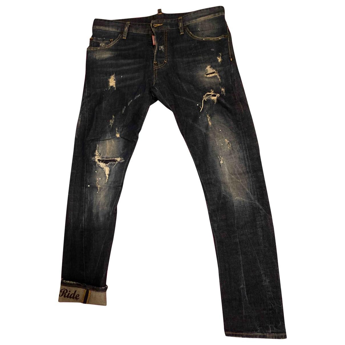 Dsquared2 N Blue Jeans for Men 42 FR