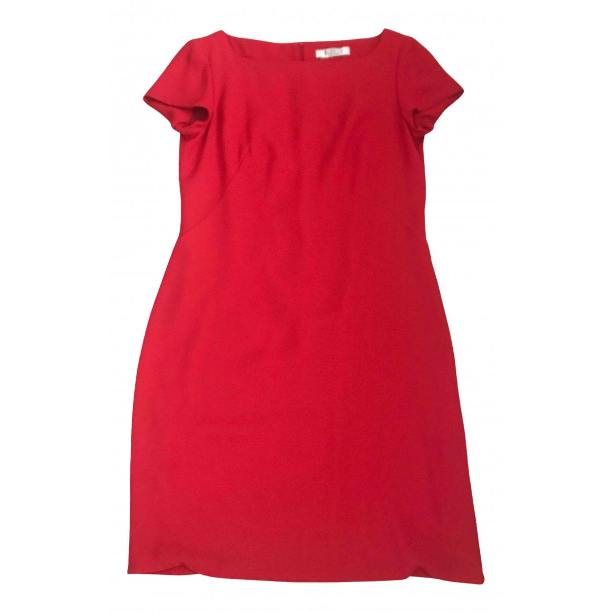 Marella \N Kleid in  Rot Polyester