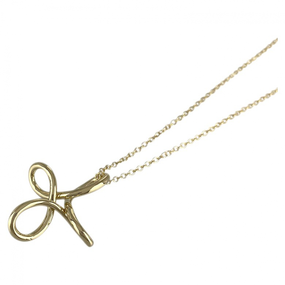 Tiffany & Co N Gold Yellow gold necklace for Women N