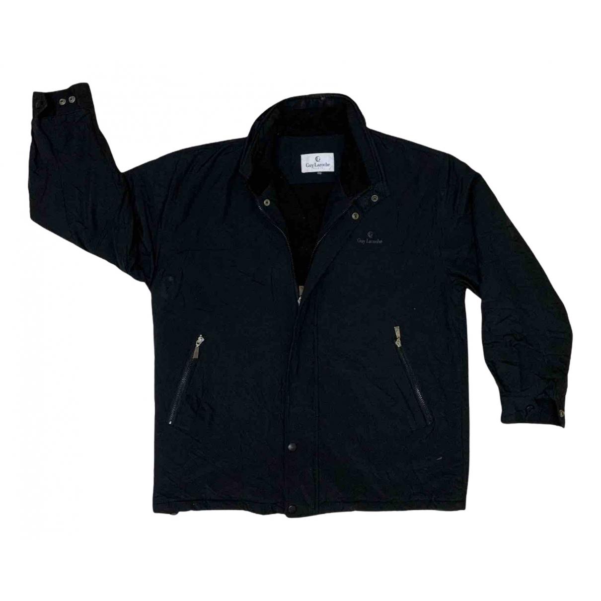 Guy Laroche N Black Cotton jacket  for Men L International