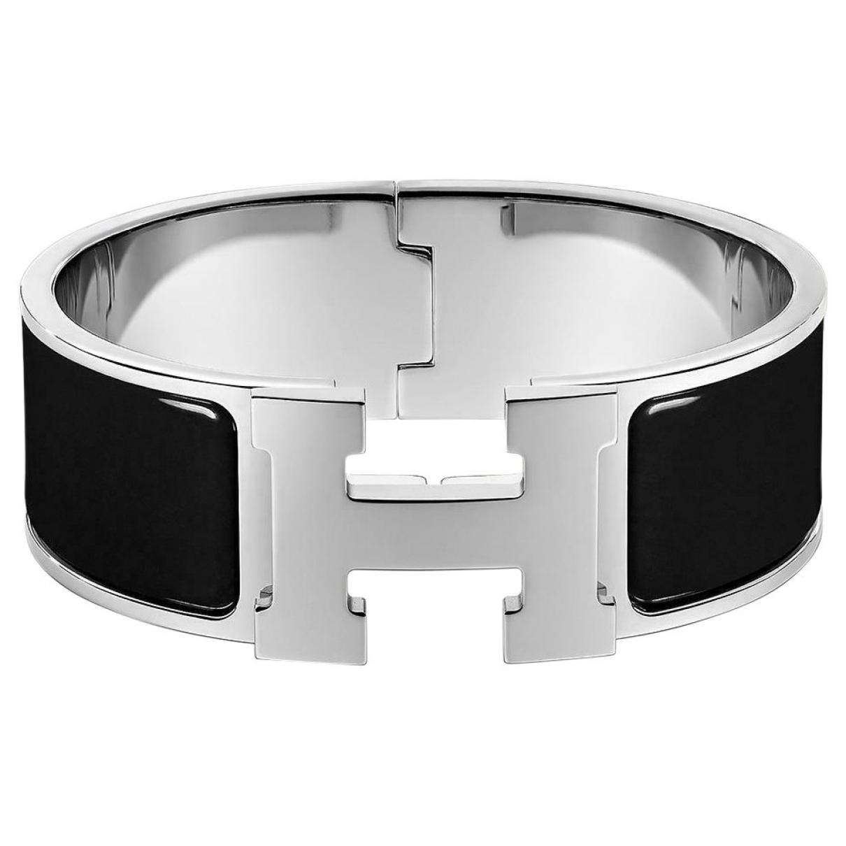 Hermes - Bracelet Clic H pour femme en autre - noir